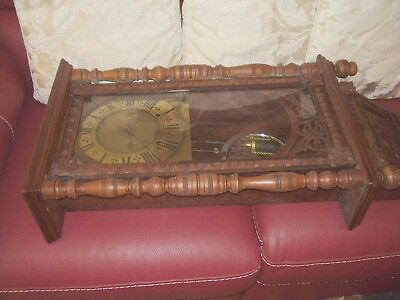 Nice Vintage Very Long Wall Clock (S/R) (LC-1)