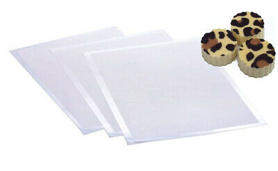 Blank Chocolate Transfer sheets for Edible Printing Print Images (265mm x 125mm)