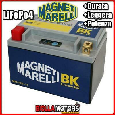 MM-ION-13 BATTERIA LITIO YTX16-BS TRIUMPH Tiger 800 2011-2016 MAGNETI MARELLI YT