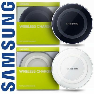 Genuine Samsung Galaxy S6 S7 S8 Edge PLUS QI Wireless Charger Charging Pad Plate