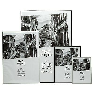Black Picture Frame Silver Photo Frame Poster Frame Certificate A1 A2 A3 A4