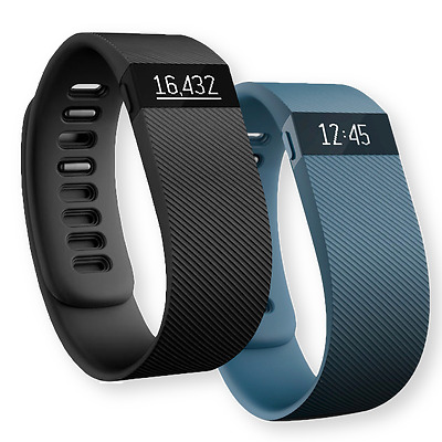 Fitbit Charge Wireless Activity Wristband Fitness Tracker BLACK & SLATE