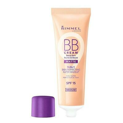Rimmel BB Cream Matte 9 in 1 Skin Perfecting Beauty Balm - Medium - 30ml