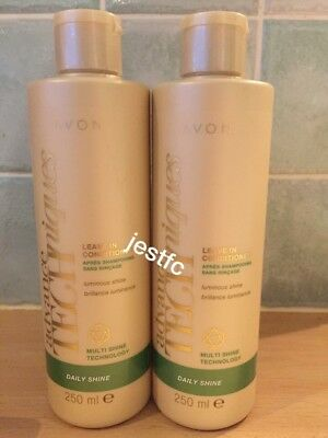 Avon~ADVANCE TECHNIQUES~Daily Shine~LEAVE IN CONDITIONER~x2 Lots