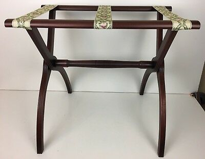 """Mahogany Tray Stand Catering Tray Serving Café Hotel Food 20"""" H X 22"""" L X 14"""" W"""