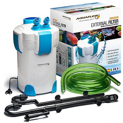 AquaFlow Technology AEF-302 Systeme de filtre externe pour Aquarium 3 phases
