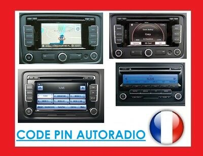 CODE PINS HEAD unit VW RCD310 510 RCD510,RNS300 RNS310 RNS315