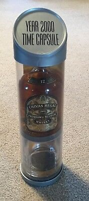 Chivas Regal 12 Year Old Blended Scotch Whisky 375 ML Time Capsule & Glass