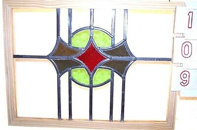 Old English stained glass window