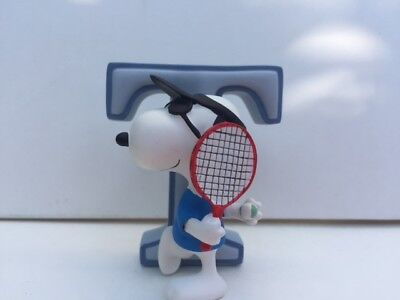 Snoopy Figurine Letter T Collection Brand New in Box 8590 Figure New in Box