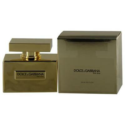 The One by Dolce & Gabbana Eau de Parfum Spray 2.5 oz 2014 Limited Edition Gold