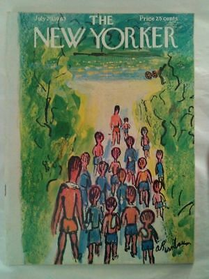 LOT x 4 Vintage 1960s Magazines - THE NEW YORKER