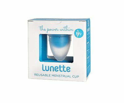 Lunette Menstrual Cup Model 2 for Medium to Heavy Flow Clear