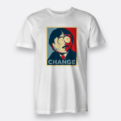 South Park Randy Marsh Change White T-shirt Men's Tee Size S to XXXL
