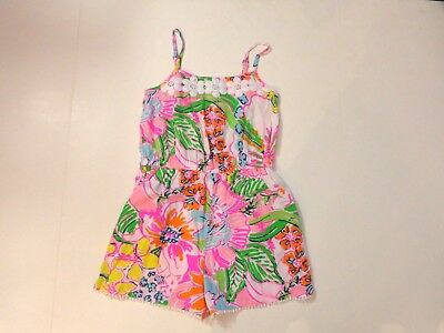 Lilly Pulitzer for Target girl's size Medium (7-8) Nosie Posey romper