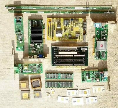 Scrap Computer Memory RAM CPU's Misc. for Gold Silver Precious Metals Recovery