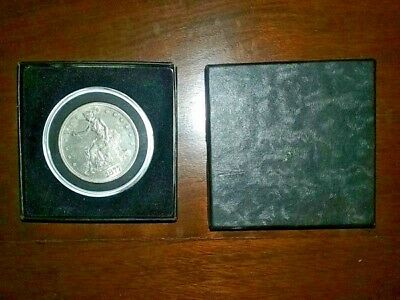 1877 U.S. Trade Dollar Bold With Clear Strikes Excellent San Francisco Mint