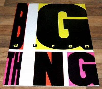 DURAN DURAN Song And Sheet Music Book - Big Thing Album