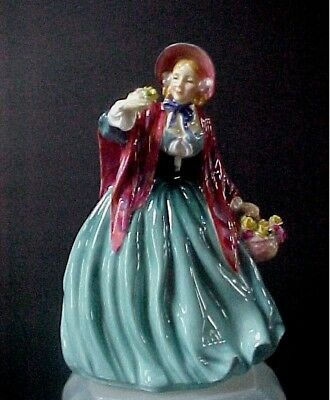 "Royal Doulton Figurine Lady Charmian HN 1948  8"" tall  Mint Condition"