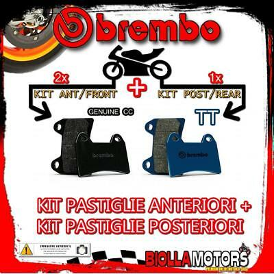 Brpads-3493 Kit Pastiglie Freno Brembo Indian Scout 2017- 1200Cc [Genuine+Tt] An
