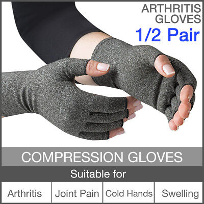 Arthritis Compression Gloves Joint Finger Pain Relief Hand Wrist Brace Support