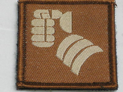 20th Armoured Brigade, (Faust) , Iron Fist, Trf, Patch, Touch Fastener Back