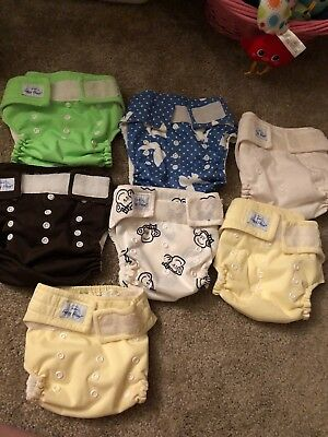 Happy Heinys Pocket Diaper Lot (7)