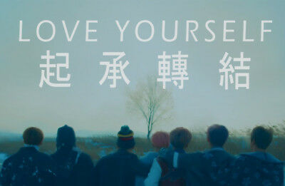 BTS [LOVE YOURSELF 轉 TEAR] 3rd Album 4Ver SET+POSTER+2Book+Card+Photo+GIFT CARD