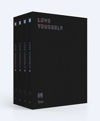BTS 3rd Album [LOVE YOURSELF 轉'Tear'] Random CD+P.Book+M.Book+Photocard+S.Photo