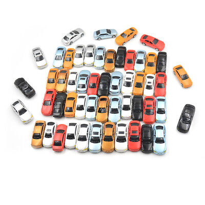 10pcs New HO Scale 1:75 Painted Model Cars Building Train Layout Toys Gift R