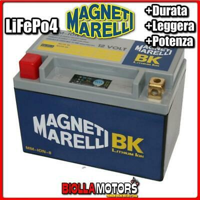 Mm-Ion-8 Batteria Litio 12V 15Ah Ytx9-Bs Suzuki Gsr600 600 2003- Magneti Marelli