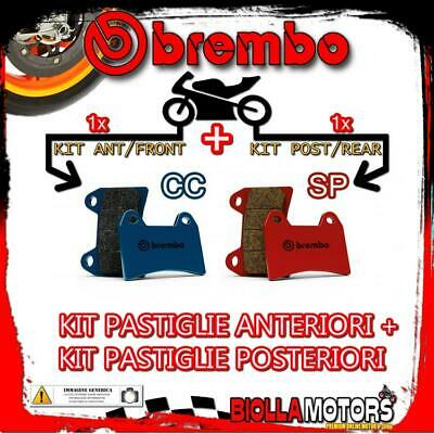 Brpads-40295 Kit Pastiglie Freno Brembo Harley Xl N Iron 2014- 883Cc [Cc+Sp] Ant