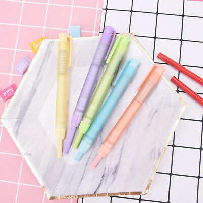 Colorful Students Pen Shaped Eraser Rubber Stationery Kid Gift Toy Cute Random I