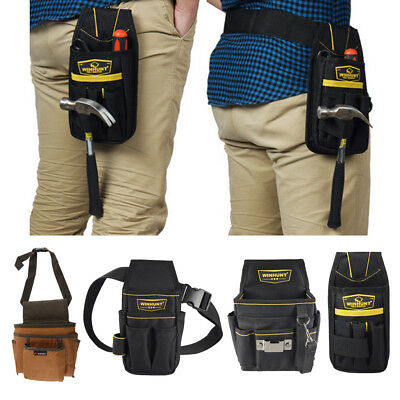 Tool Holder Pocket Utility Bag Nail Tool Apron Carpenter Belt Rig Pouch Bags