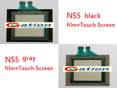 New for Omron NS5-SQ11B-V2, NS5SQ11BV2 Touch Screen +Protective Film