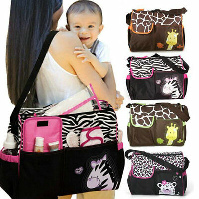 Multi Function Baby Kids Pad Diaper Nappy Changing Tote Handbag Mummy Mother Bag