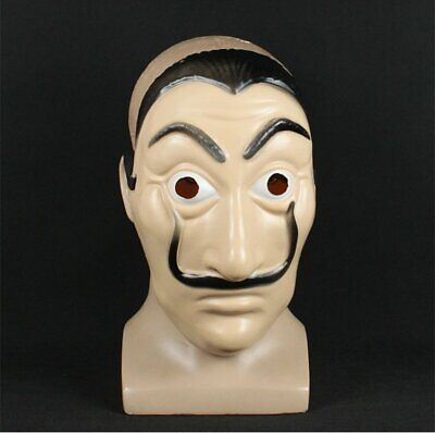 Mask La Casa De Papel Money Heist Mask Salvador Dali Cosplay Costume Gift