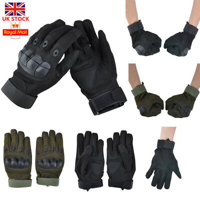 Tactical Gloves Full Finger Gloves Men's Army Military Outdoor Motorcycle Gloves