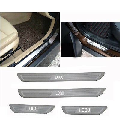 For BMW X1 X3 X5 X6 5/1/3/7 Series 4 DOOR SILL GUARD SCUFF STAINLESS STEEL