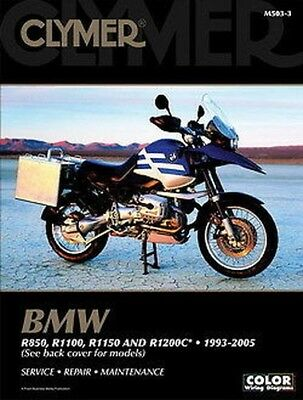 BMW R1150GS Adventure R1150R Rockster R1150RT R1150RS R1200C Clymer Manual 503-3