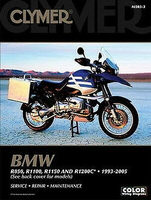 BMW R850 R1100 R1150 R1150GS R1200 1993-2005 Clymer Manual M503-3 NEW