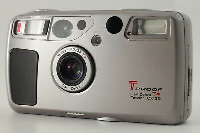 Kyocera T Proof Yashica T5 T4 Super 35mm Film Camera from Japan #386 ** AS-IS **