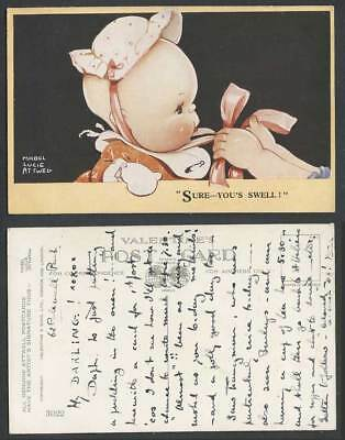 MABEL LUCIE ATTWELL Old Postcard Sure You's Swell Children Cute Little Baby 3022