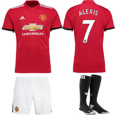 Authorized ALEXIS Kit Short Sleeve Shirt for 3-14Y Kids Boy Soccer Outfits+socks