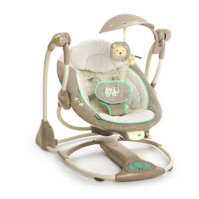 Bright Starts Ingenuity Convertible Swing 2 in 1 Seat Whimscal Wonders