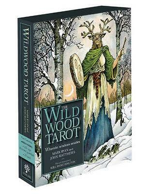 The Wildwood Tarot: Wherein Wisdom Resides by Mark Ryan (English) Free Shipping!