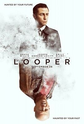 LOOPER MOVIE POSTER 1 Sided ORIGINAL 27x40 BRUCE WILLIS JOSEPH GORDON-LEVITT