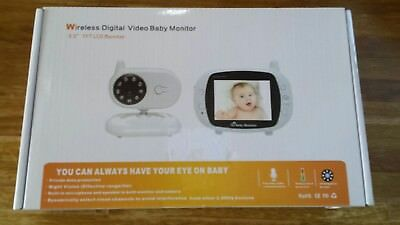 wireless digital video baby monitor brand new boxed room temperature lcd screen