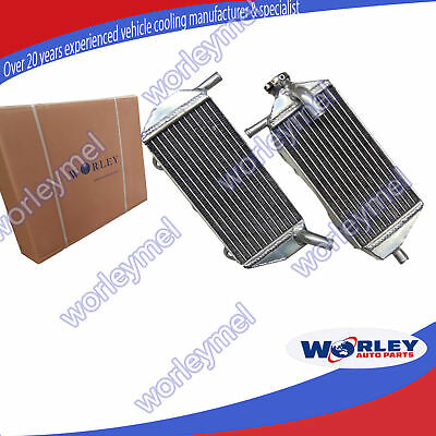 Aluminum radiator for YAMAHA YZ450F 2010 2011 2012 2013 10 11 12 13 left & right