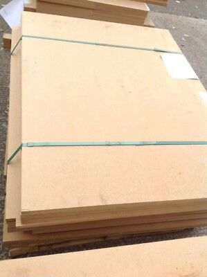 6 x Standard MDF Panels 25mm Boards Sheets MDF